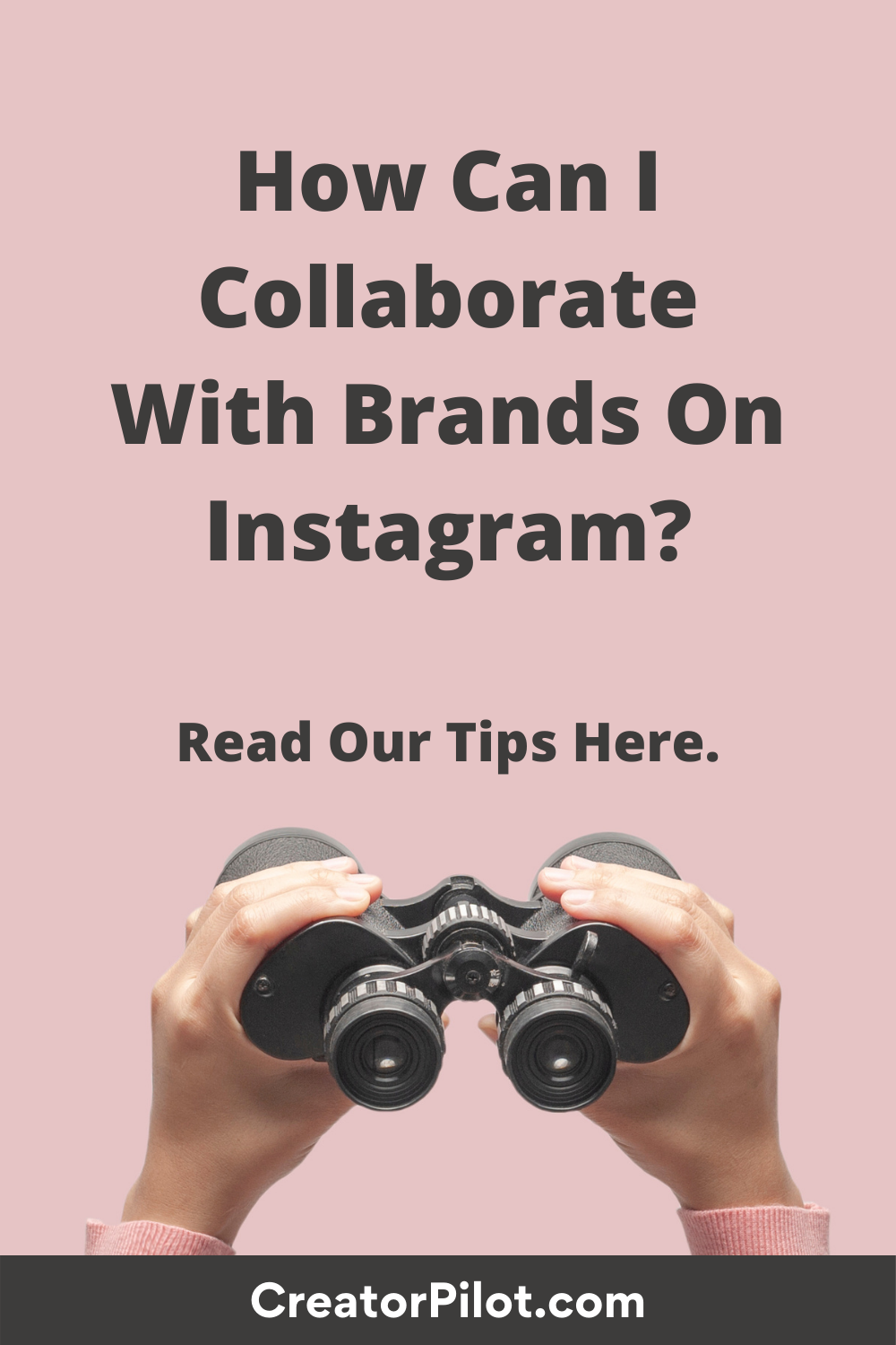 how collaborate with brands on Instagram