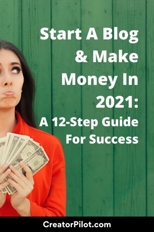 Start a blog and make money